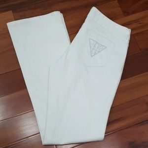 Guess White Jeans,  Size 29 NWOT